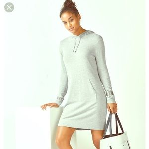 Fabletics Yukon Hooded Sweater Dress S NWOT